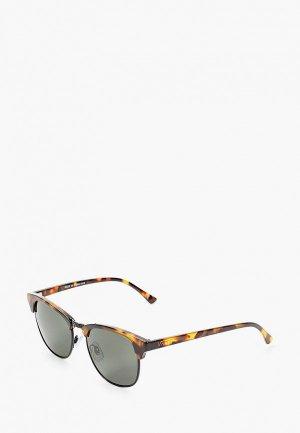Очки солнцезащитные Vans. Цвет: коричневый
