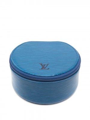 Шкатулка для украшений Ecrin Bijou pre-owned Louis Vuitton. Цвет: синий