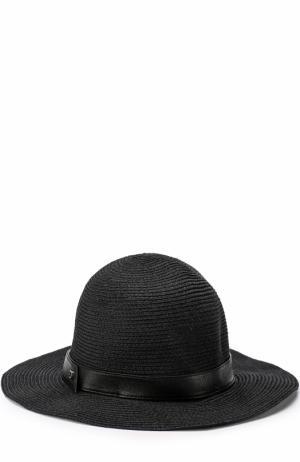 Шляпа с лентой Inverni. Цвет: черный