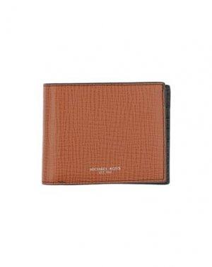 Бумажник MICHAEL KORS. Цвет: желто-коричневый