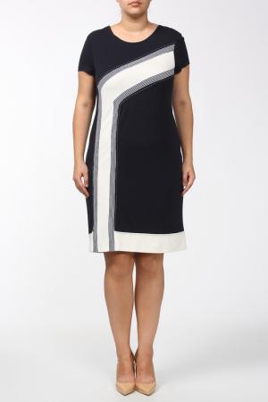 Платье Alkis. Цвет: синий, белый