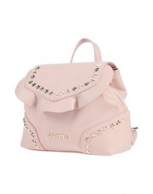 Рюкзаки и сумки на пояс CAFèNOIR. Цвет: розовый