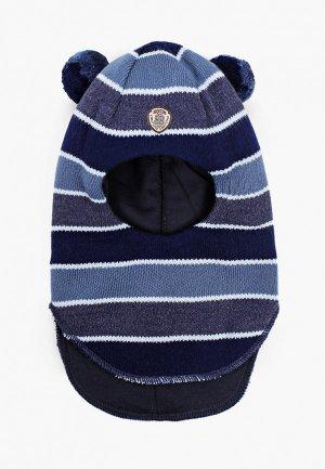 Балаклава Kotik Шлем Скуби, с утеплителем. Цвет: синий