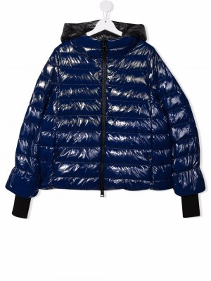 TEEN padded rain jacket Herno Kids. Цвет: синий