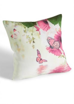 Чехол для подушек Бабочки (с рисунком бабочек) bonprix. Цвет: с рисунком бабочек