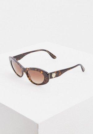 Очки солнцезащитные Dolce&Gabbana DG4360 502/13. Цвет: коричневый