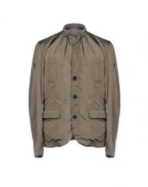 Пиджак HETREGO'. Цвет: зеленый-милитари