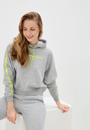 Худи Champion LEGACY Hooded Sweatshirt. Цвет: серый