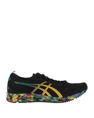 Низкие кеды и кроссовки ASICS. Цвет: черный