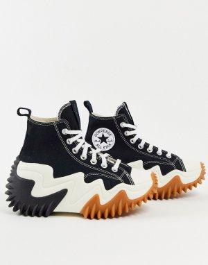 Черные кроссовки Run Star Motion-Черный цвет Converse