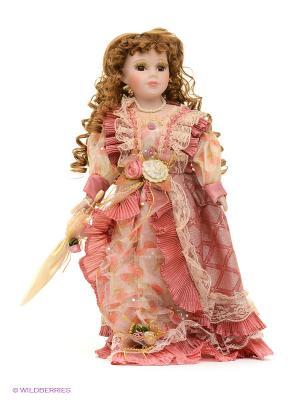 Кукла фарфор Каприс 16 дюймов Angel Collection. Цвет: розовый