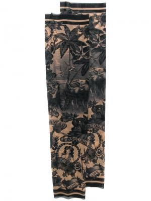 Нарукавники с принтом татуировок Aloha Dsquared2. Цвет: чёрный