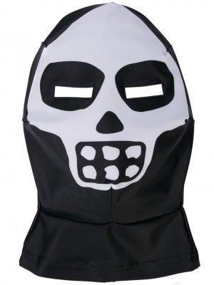 Балаклава Skeleton Mask Walter Van Beirendonck. Цвет: черный