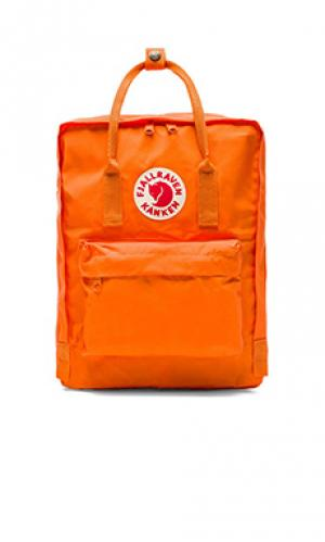 Рюкзак kanken Fjallraven. Цвет: оранжевый