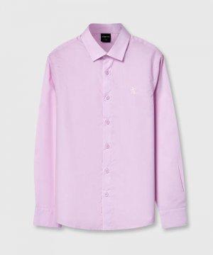 Рубашка для мальчиков O`Stin. Цвет: светло-розовый