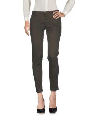 Повседневные брюки SUPERFINE. Цвет: свинцово-серый