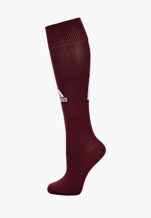 Гетры adidas SANTOS SOCK 18. Цвет: бордовый