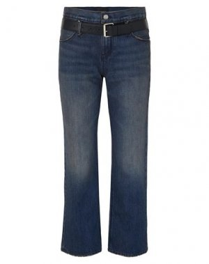 Джинсовые брюки-капри RTA. Цвет: синий