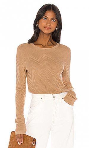 Пуловер suka LAGENCE L'AGENCE. Цвет: цвет загара
