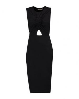 Платье до колена BAILEY 44. Цвет: черный