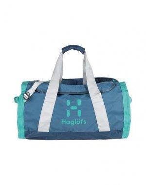 Дорожная сумка HAGLÖFS. Цвет: грифельно-синий
