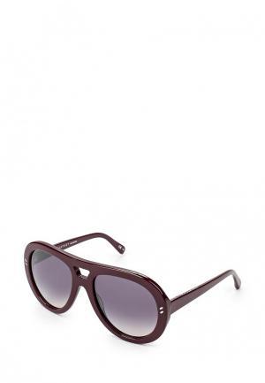 Очки солнцезащитные Stella McCartney ST977DWQYL84. Цвет: бордовый