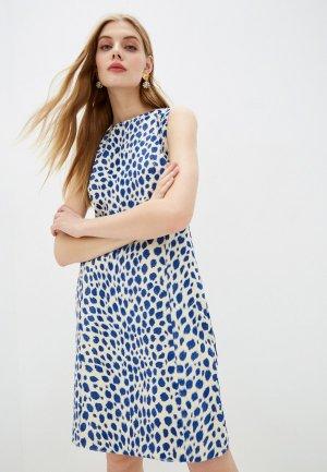 Платье Akris Punto. Цвет: белый