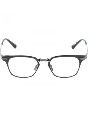 Очки Union в оправе Dita Eyewear. Цвет: чёрный