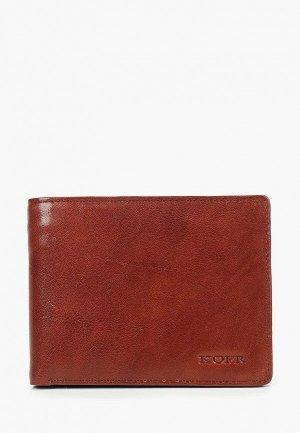 Кошелек Kofr. Цвет: коричневый