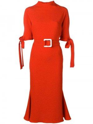 Платье с поясом Edeline Lee