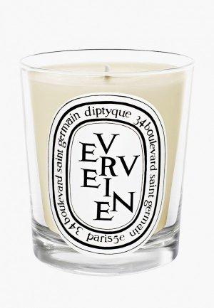 Свеча ароматическая Diptyque Verveine/Лимонная вербена,190 г. Цвет: белый