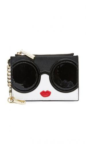 Stacey Face Zip Coin Purse alice + olivia