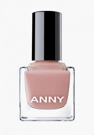 Лак для ногтей Anny тон 303 бежево-розовый, 15 мл. Цвет: бежевый