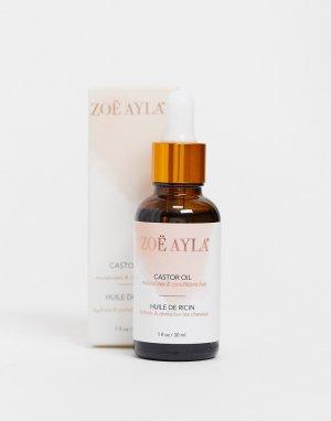 Касторовое масло объемом 30 мл -Прозрачный Zoe Ayla