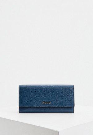 Кошелек Hugo Victoria Cont-P. Цвет: синий