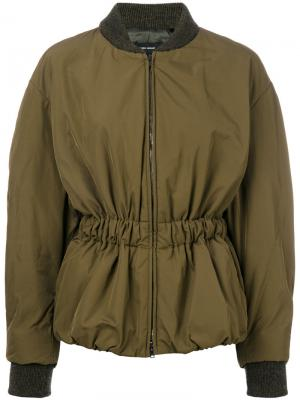 Куртка кроя бомбер Dex Isabel Marant. Цвет: коричневый