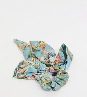 Резинка для волос с платком и тропическим принтом -Мульти ALDO