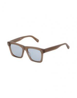Солнечные очки STELLA McCARTNEY MEN. Цвет: зеленый-милитари