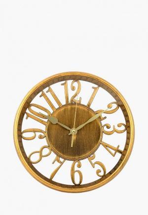 Часы настенные Viron. Цвет: золотой