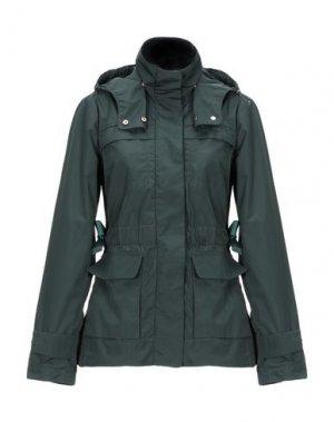 Куртка GEOSPIRIT. Цвет: темно-зеленый