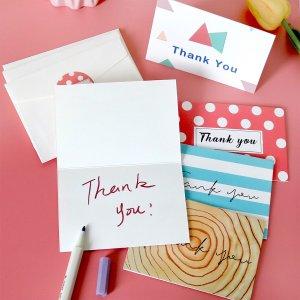 6 наборов поздравительная открытка & конверт наклейка со смешанным узором SHEIN. Цвет: многоцветный