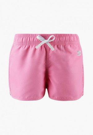 Шорты для плавания Reima Fidzi. Цвет: розовый