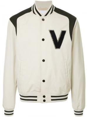 Куртка-бомбер с логотипом Ports V. Цвет: нейтральные цвета