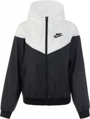 Ветровка женская Sportswear Windrunner, размер 48-50 Nike. Цвет: черный