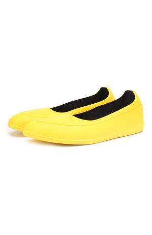 Галоши Swims. Цвет: жёлтый