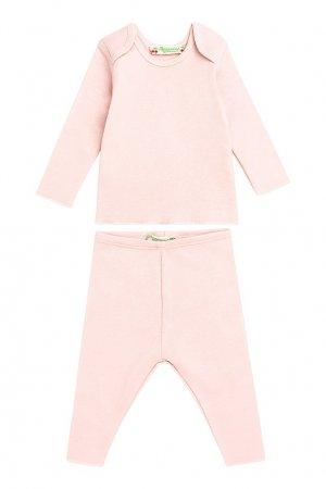 Розовый комплект Bonpoint. Цвет: розовый