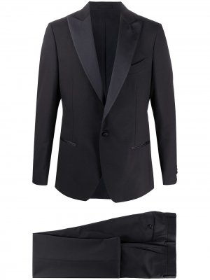 Delloglio вечерний костюм-двойка с однобортным пиджаком Dell'oglio. Цвет: синий