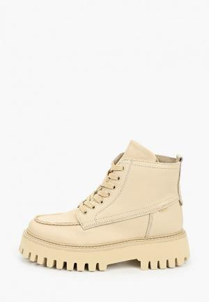 Ботинки Bronx Groovy. Цвет: бежевый