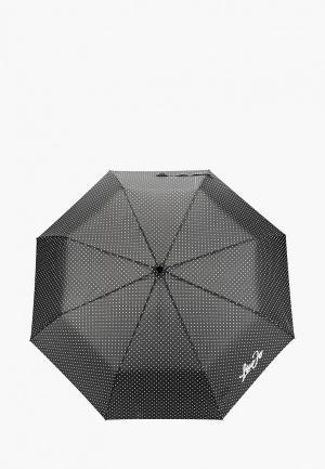 Зонт складной Liu Jo. Цвет: черный