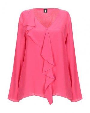 Блузка 1-ONE. Цвет: фуксия
